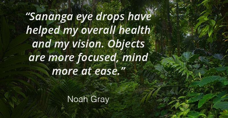 Sananga Eye Drops Positive Review