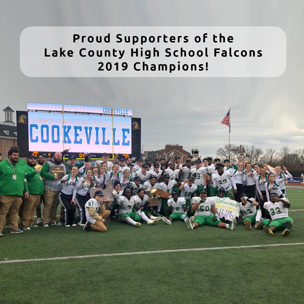 Lake County High School - Falcons