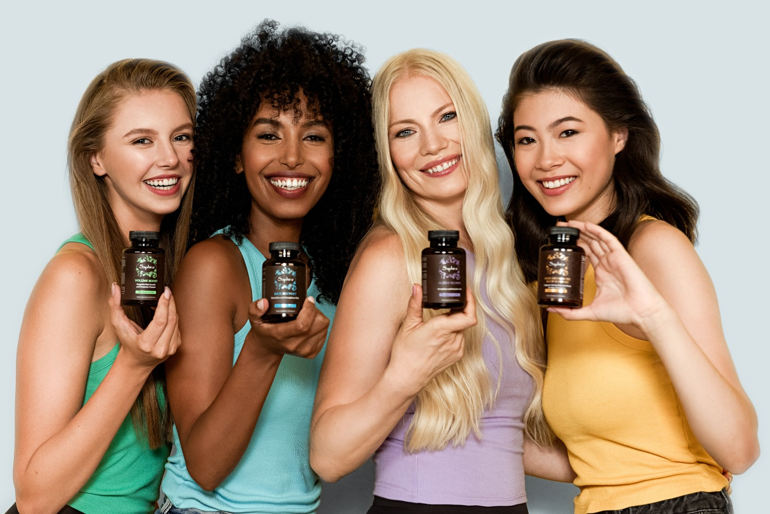 Saphira's Hair Supplements & Vitamins for Women and All Types of Hair