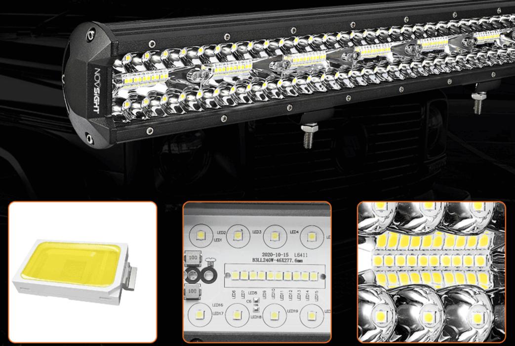 novsight newest led light bar for off road