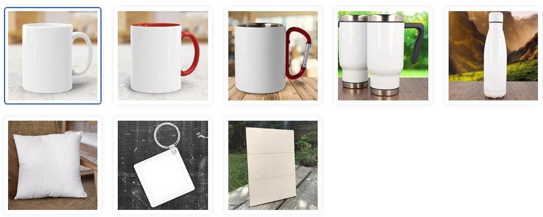 Personalisierte Tasse Familie Produktauswahl